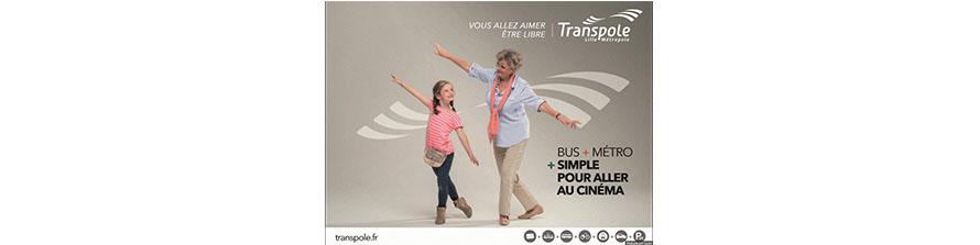 Transpole… Une nouvelle campagne pour un nouveau territoire de marque !