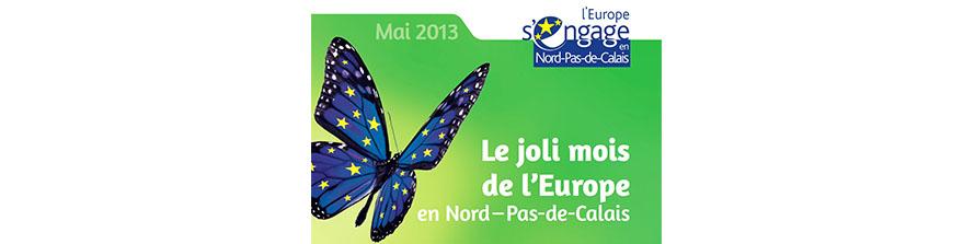 """""""Le joli mois de l'Europe en Nord Pas-de-Calais"""""""