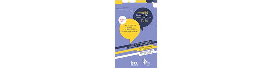 6ème édition de formation au métier de responsable de communication en octobre prochain