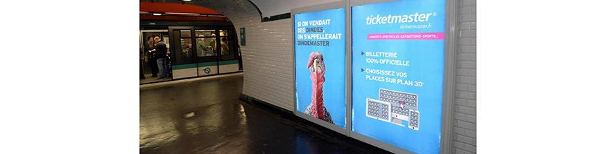 Ticketmaster vend des tickets et non des dindes ou encore des pintades ou des chouettes !