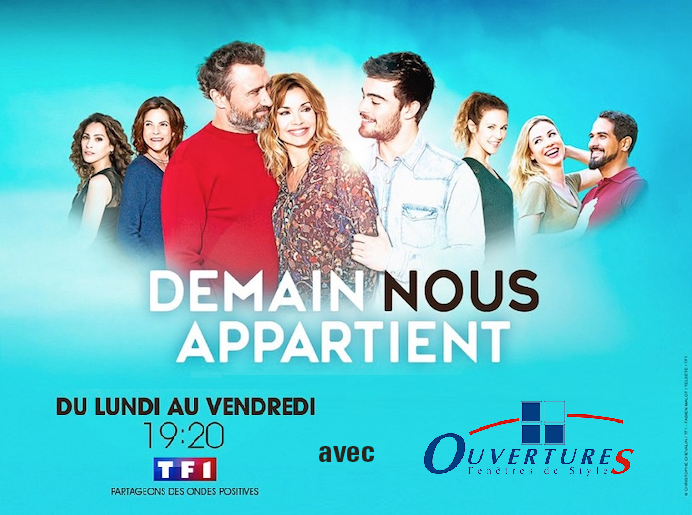 OuvertureS sponsorise l'émission « Demain nous appartient » sur TF1 !