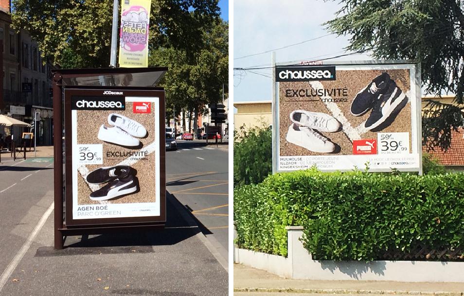 Chaussea… donner de la visibilité à l'enseigne et générer du trafic en point de vente !