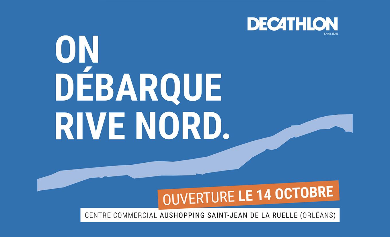 Lancement du premier « Shop-in-Shop » Décathlon au cœur du magasin Auchan Orléans !