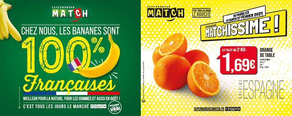 Un retour vitaminé en 2021 pour Les Supermarchés Match